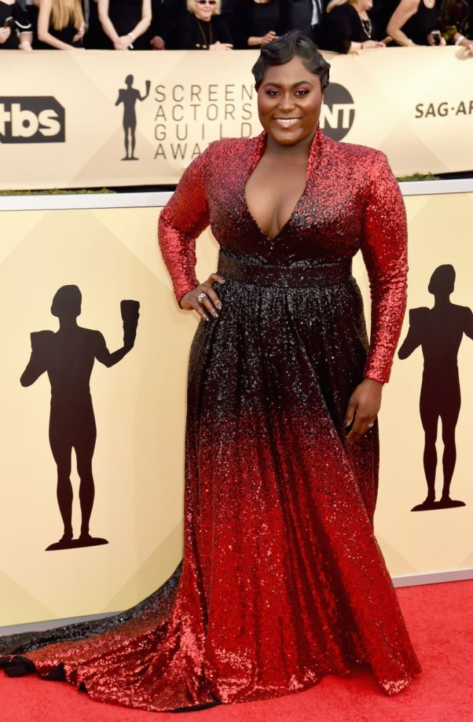 Danielle Brooks at the 2018 Screen Actors Guild Awards