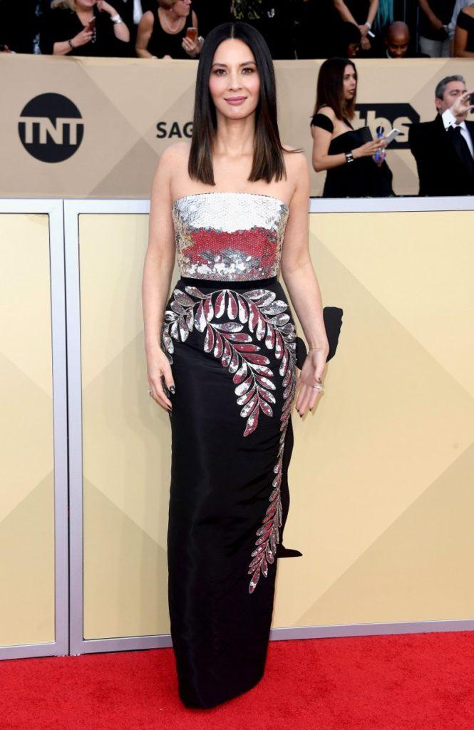 Olivia Munn at the 2018 Screen Actors Guild Awards