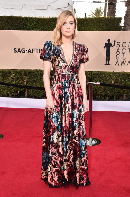Brie Larson at the 2018 Screen Actors Guild Awards