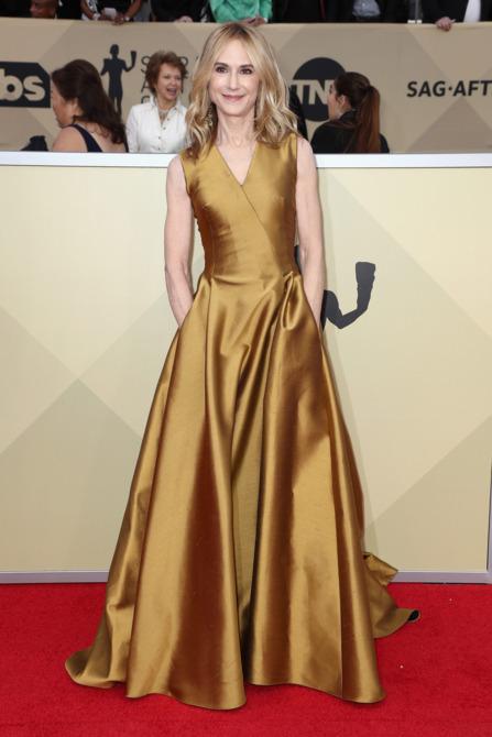 Holly Hunter at the 2018 Screen Actors Guild Awards