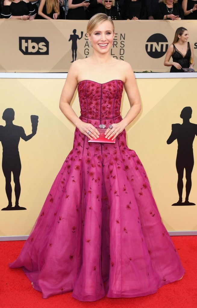 Kristen Bell at the 2018 Screen Actors Guild Awards