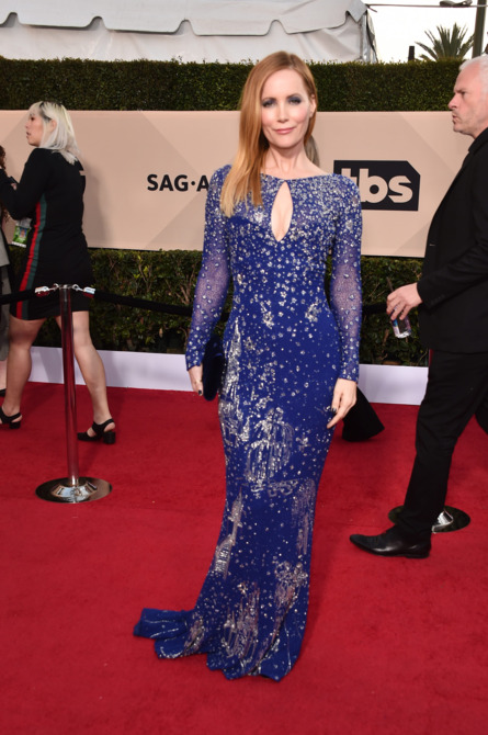 Leslie Mann at the 2018 Screen Actors Guild Awards