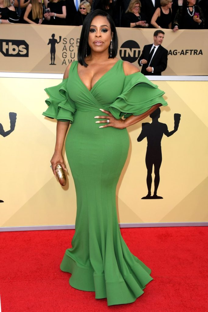 Niecy Nash at the 2018 Screen Actors Guild Awards