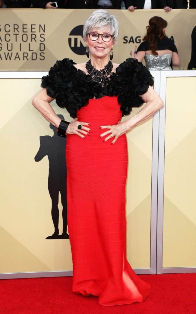 Rita Moreno at the 2018 Screen Actors Guild Awards
