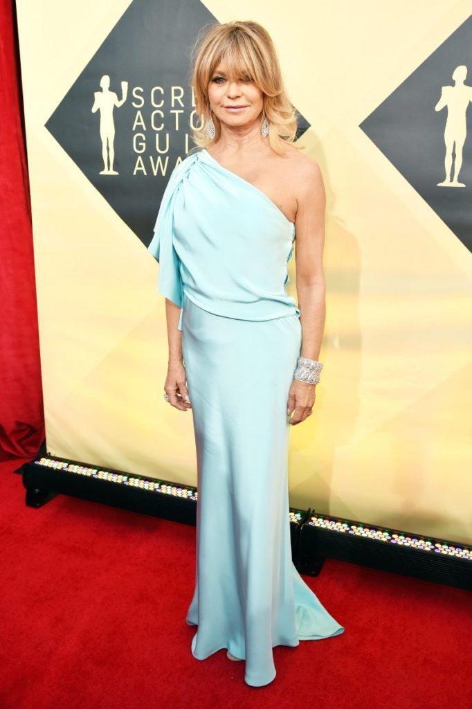 Goldie Hawn at the 2018 Screen Actors Guild Awards