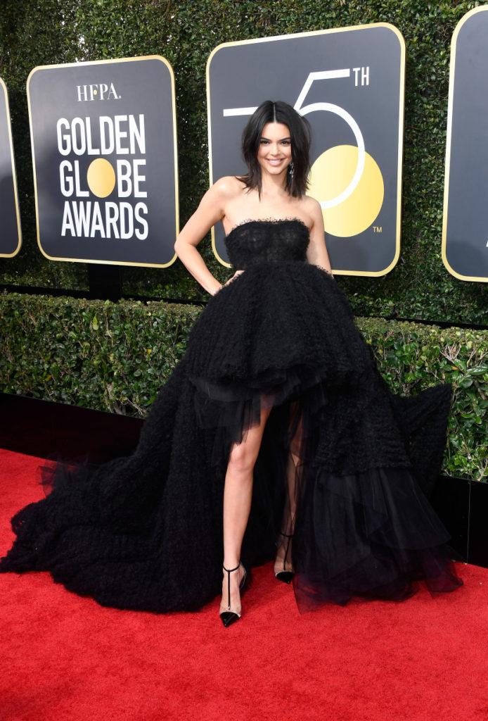 Kendall Jenner 2018 Golden Globes