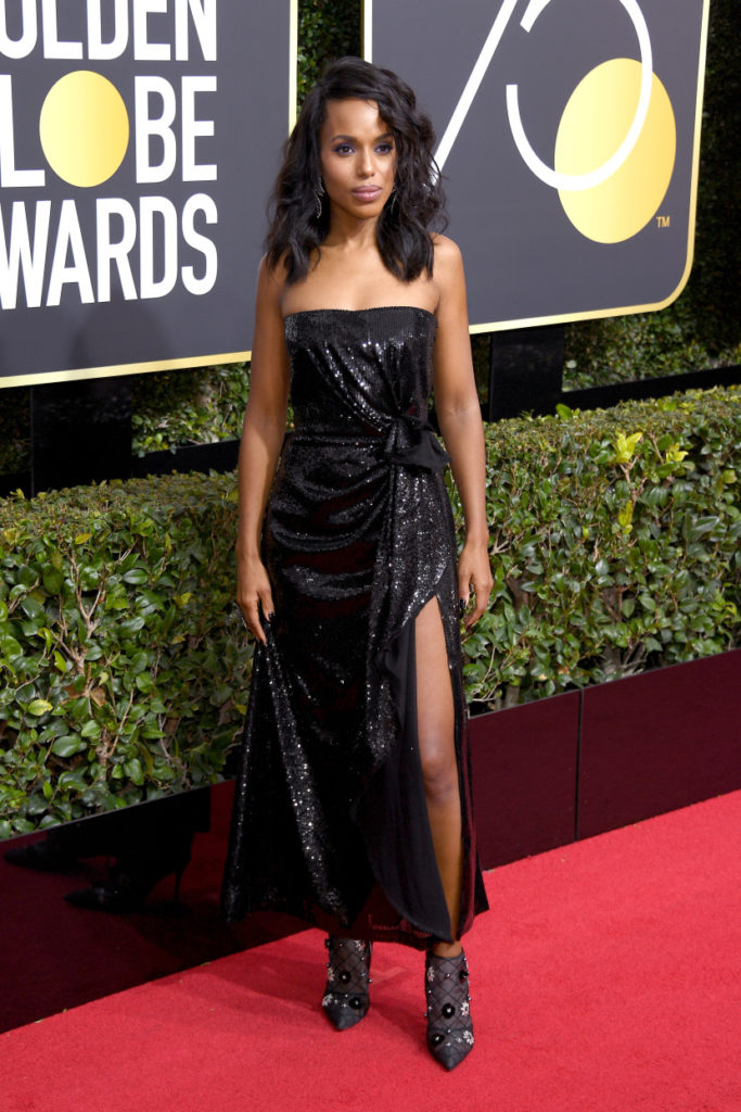 Kerry Washington at the 2018 Golden Globes