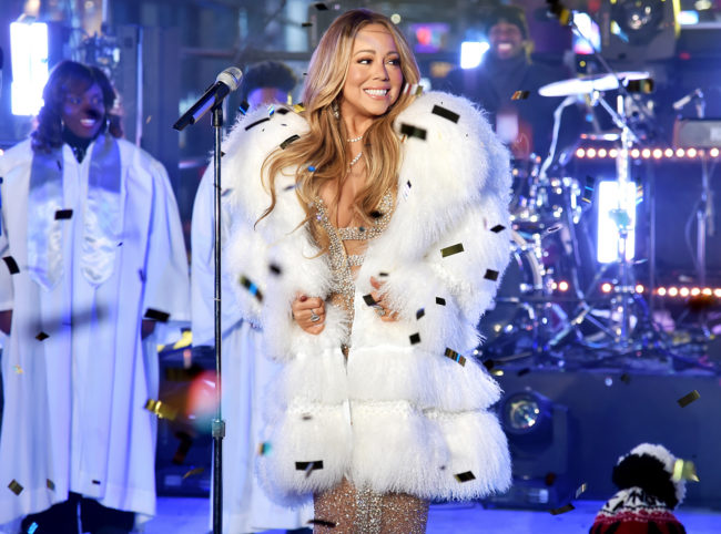 The queen bee of celebrity style this NYE 2018 was Mariah Carey who made her return to Dick Clark's New Year's Rockin' Eve at Times Square