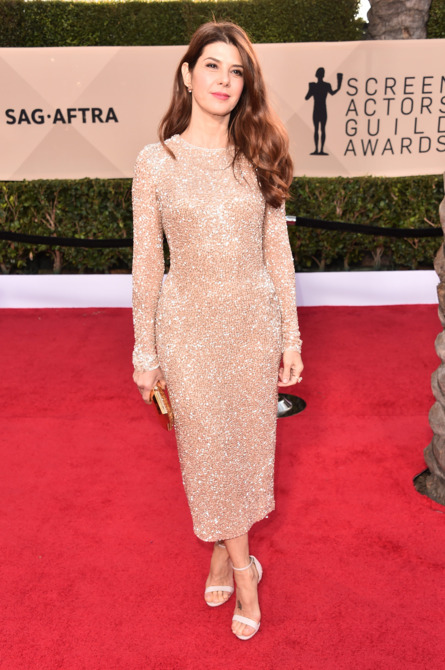 Marisa Tomei at the 2018 Screen Actors Guild Awards