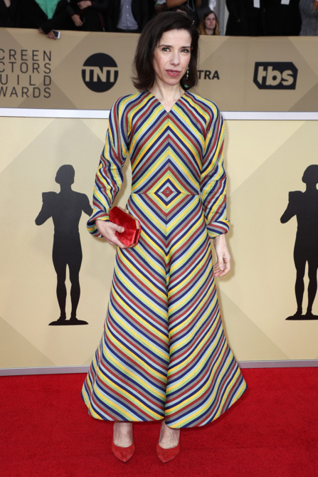 Sally Hawkins at the 2018 Screen Actors Guild Awards