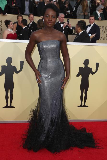 Lupita Nyongo 2018 Screen Actors Guild Awards