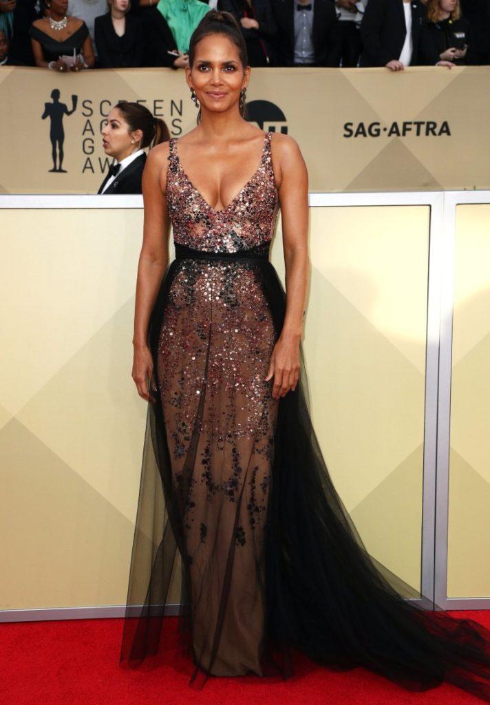 Halle Berry 2018 Screen Actors Guild Awards