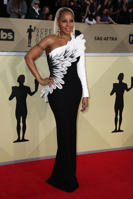 Mary J. Blige 2018 Screen Actors Guild Awards