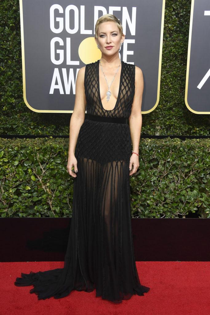 Kate Hudson at the 2018 Golden Globes