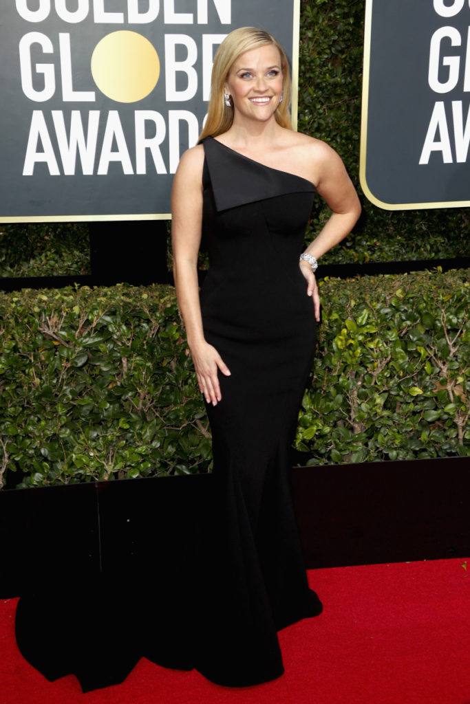 Reese Witherspoon attends The 75th Annual Golden Globe Awards