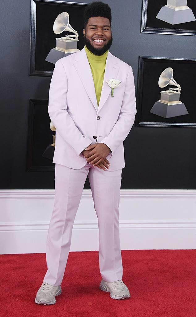 Khalid at the 2018 Grammy Awards