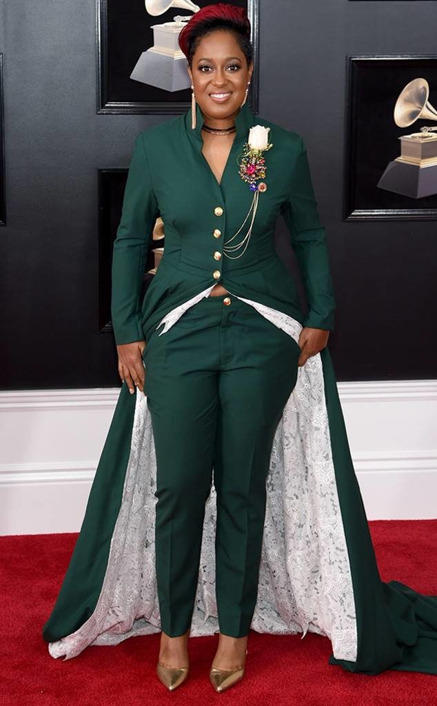 Rapsody at the 2018 Grammy Awards