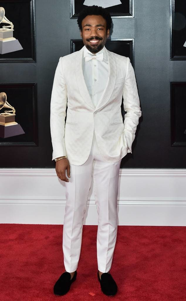 Donald Glover (a.k.a. -Childish Gambino) at the 2018 Grammy Awards