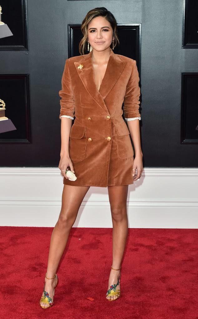 Erin Lim at the 2018 Grammy Awards