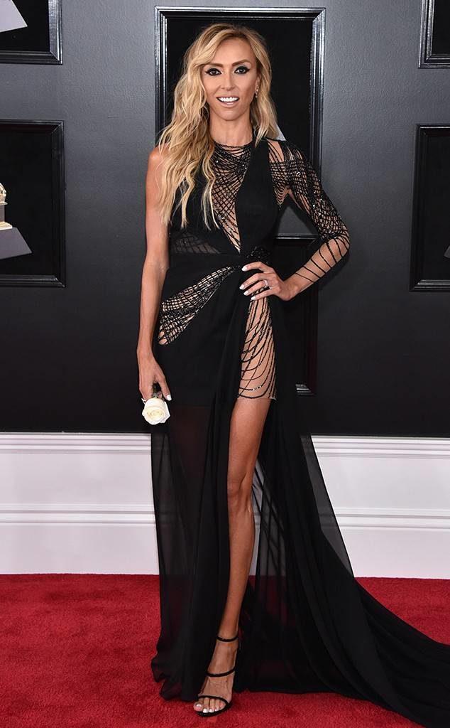 Giuliana Rancic at the 2018 Grammy Awards
