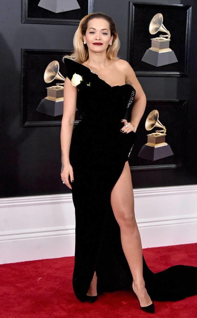 Rita Ora at the 2018 Grammy Awards