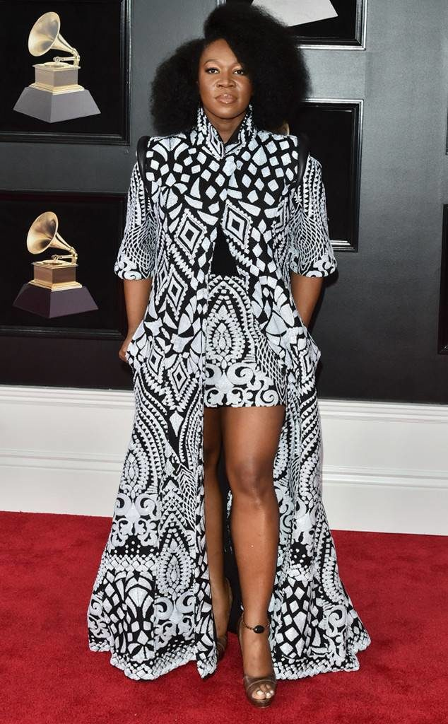 India Arie at the 2018 Grammy Awards