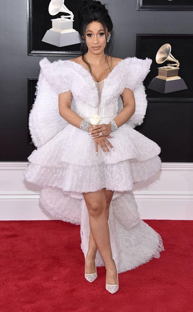 Cardi B at the 2018 Grammy Awards
