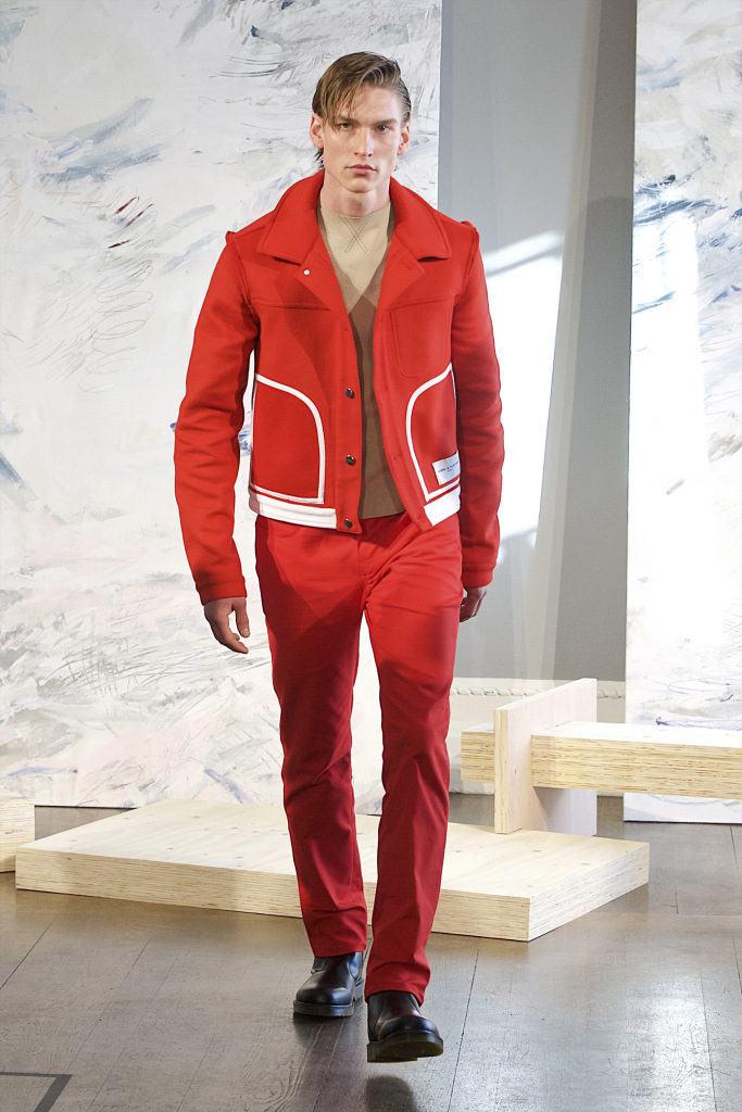 Daniel W Fletcher Presentation Menswear Fall 2018