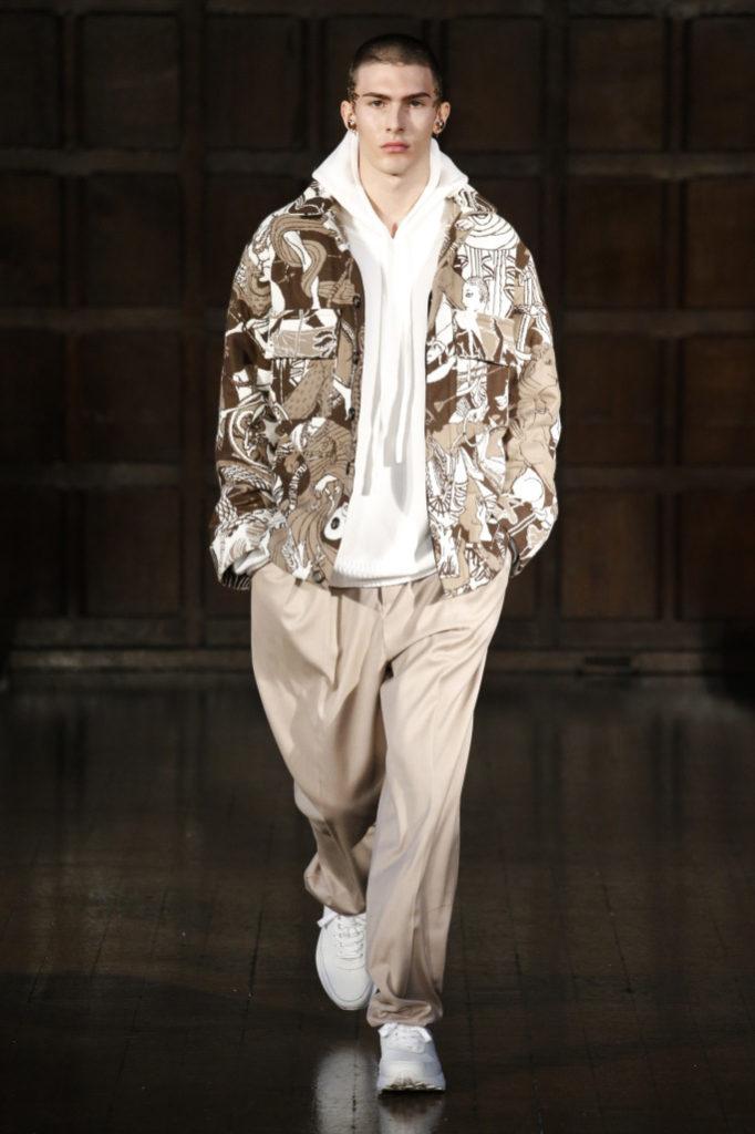 Edward Crutchley Menswear Fall 2018 /2019
