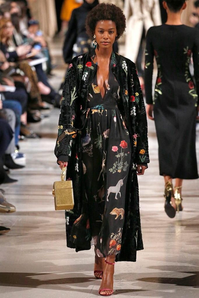 Oscar de la Renta RTW Fall 2018- New York Fashion Week