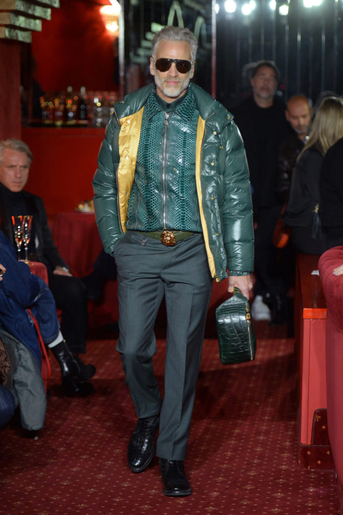 Billionaire Men's Fall 2018- Milan Fashion Week