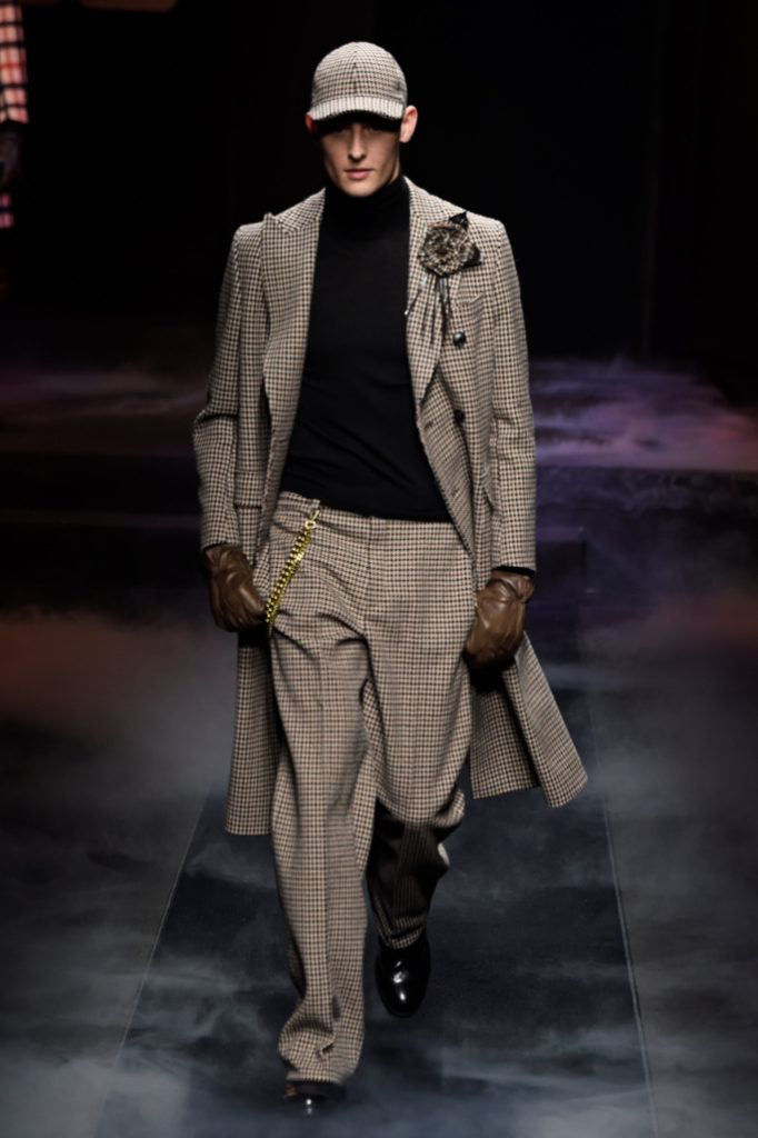 Daks Men's Fall 2018 - Milan Fashion Week