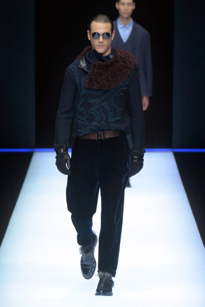 Emporio Armani Menswear Fall 2018 Milan Fashion Week