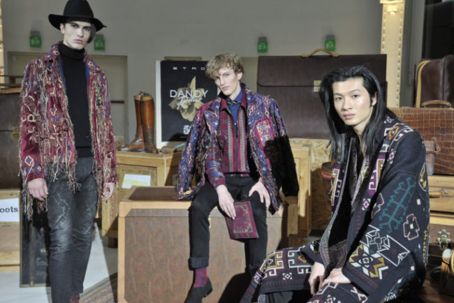 Etro Menswear Fall 2018 Milan Fashion Week