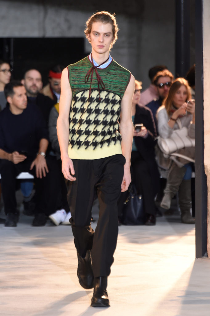 No. 21 Men's Fall 2018- Milan Fashion Week