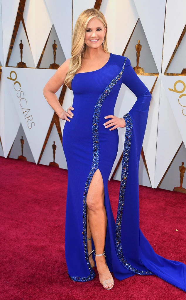 Nancy O'Dell at the 2018 Oscars