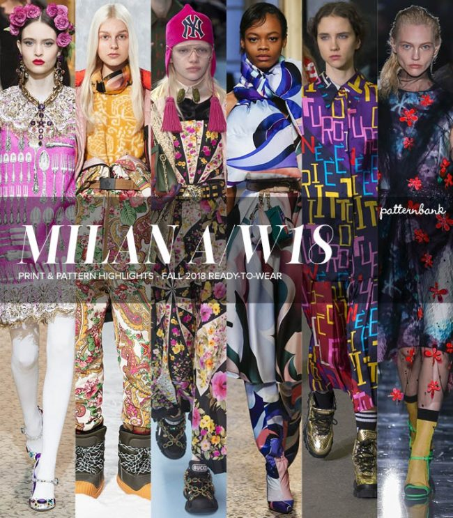 Milan Fashion Week Fall 2018/2019 Trends from the runways