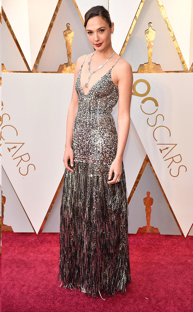 What a WOMAN! Gal Gadot in Givenchy at the 2018 Oscars