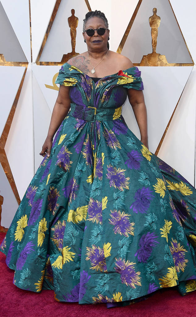 Whoopie Goldberg wore this ill-fitting Christian Siriano frock. Thank goodness the designer had soo many other slam dunks on the Oscars' red carpet
