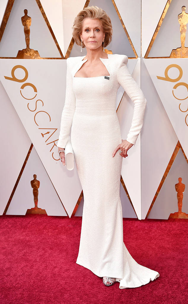 The Oscars for age-defying beauty goes to .... Jane Fonda in 44 Francois Premier