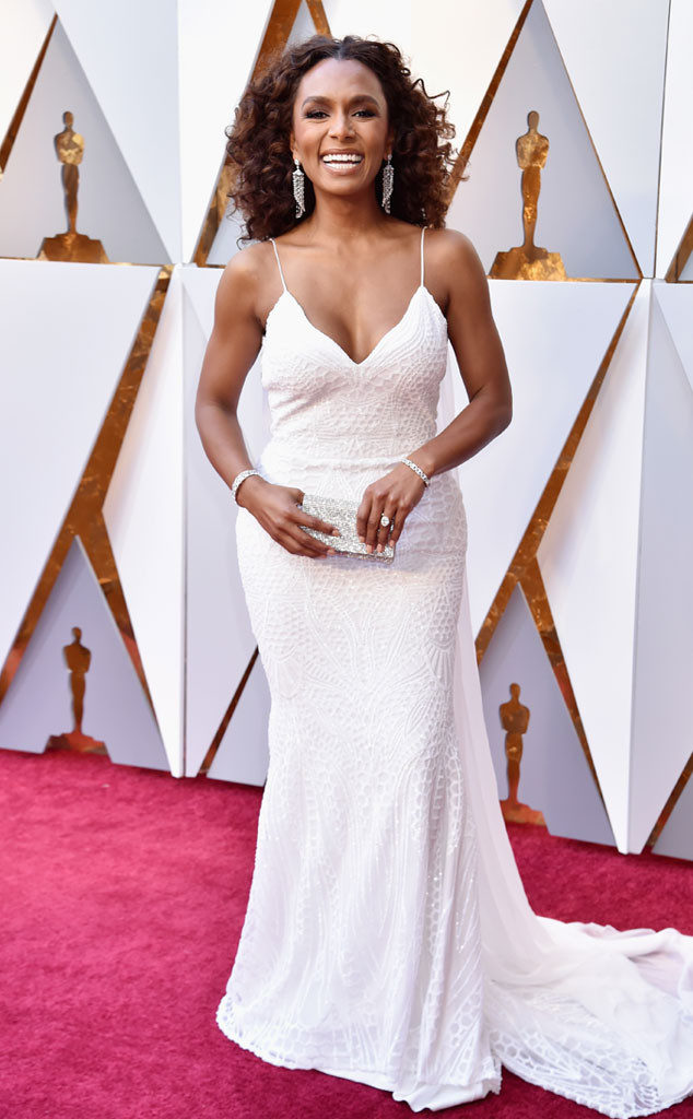 Janet Mock at the Oscars