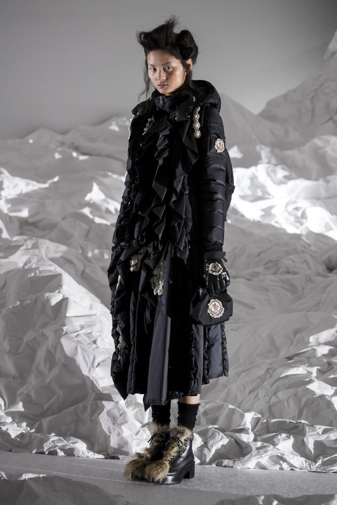 Moncler Simone Rocha fall 2018 - Milan Fashion Week