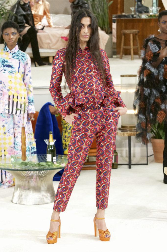 Osman RTW Fall 2018 London Fashion Week