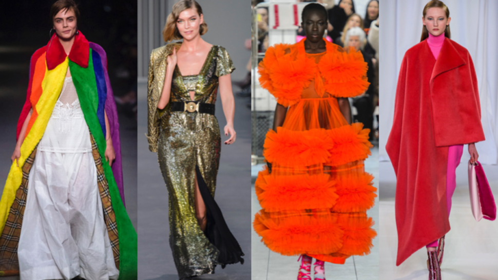 One interesting observation from the London fall 2018 collections is that it seems the designers here are not editing their collections as closely.