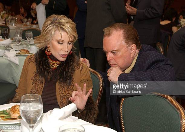 Leon Hall and Joan Rivers in 2005