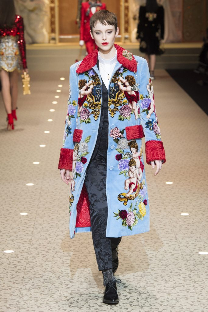 Dolce & Gabbana RTW Fall 2018 - Milan Fashion Week
