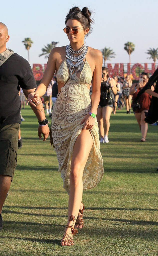 Kendall Jenner at Coachella