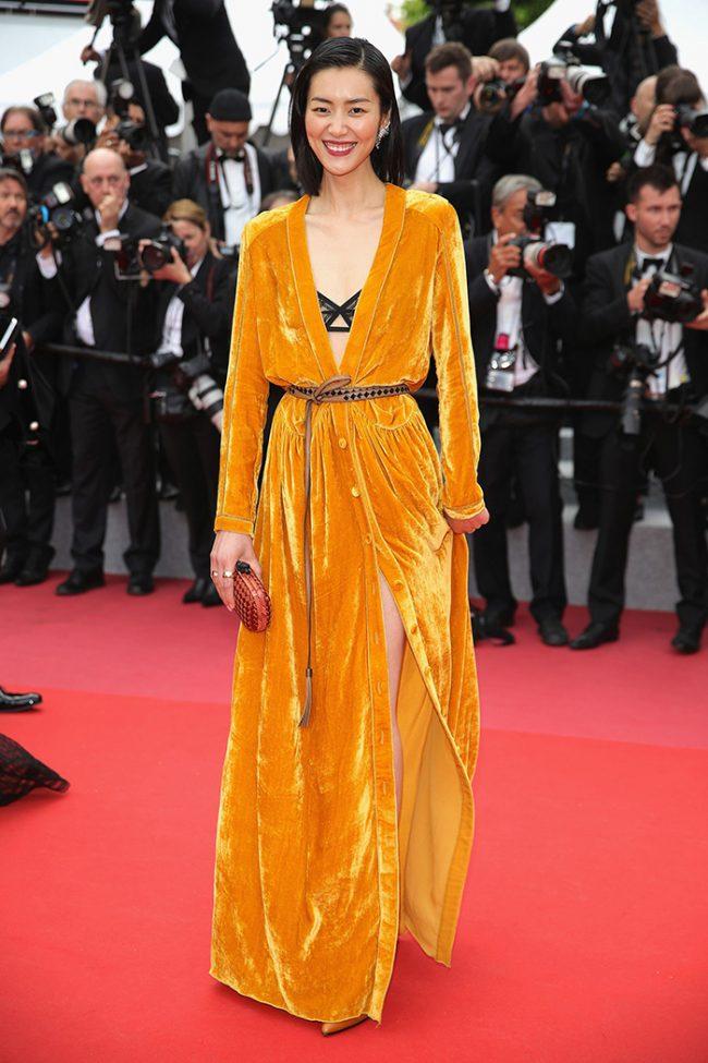 LIU Wen in Bottega Venetta at the 2018 Cannes Film Festival