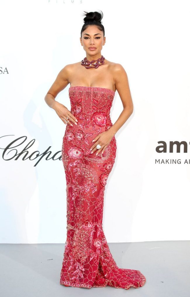 Nicole-Scherzinger in Georges Hobeika at the 2018 Cannes Film Festival