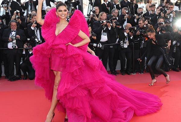 Deepika Padukone wows in a Ashi Studio couture gown at 'Ash Is The Purest White' Premiere at the 2018 Cannes Film Festival